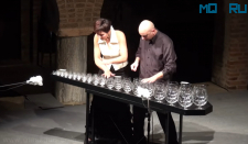 Sugar Plum Fairy by Tchaikovsky - GlassDuo LIVE (glass harp)